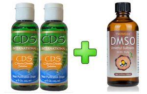 CDS 2 Bottle Kit + 1 Bottle of DMSO...