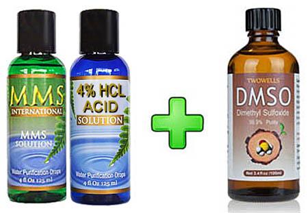 MMS 1 Bottle Kit + DMSO