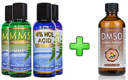MMS 2 Bottle Kit + DMSO