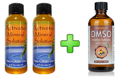 CDS 2 Bottle Kit + 1 Bottle of DMSO...